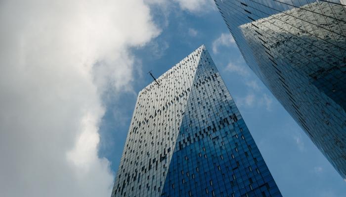 В Сити заработала самая высокая в Европе веранда под открытым небом
