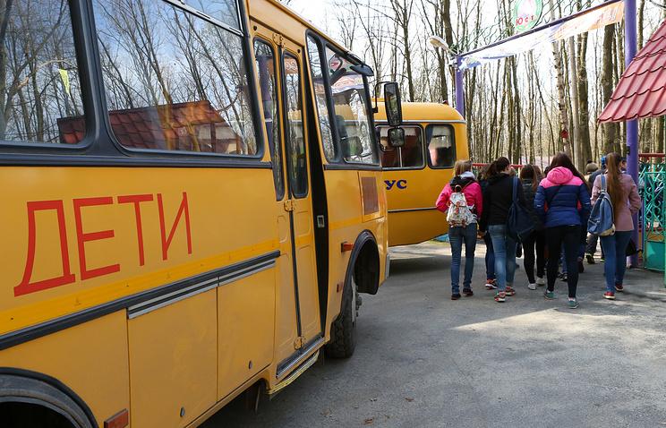 Натрассе М-5 под Миассом пассажирский автобус вылетел вкювет ФОТО