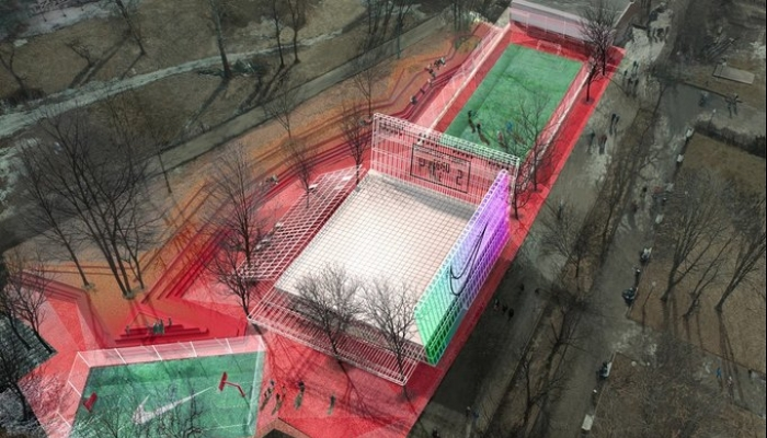 Каким будет спортивный центр Nike в парке Горького