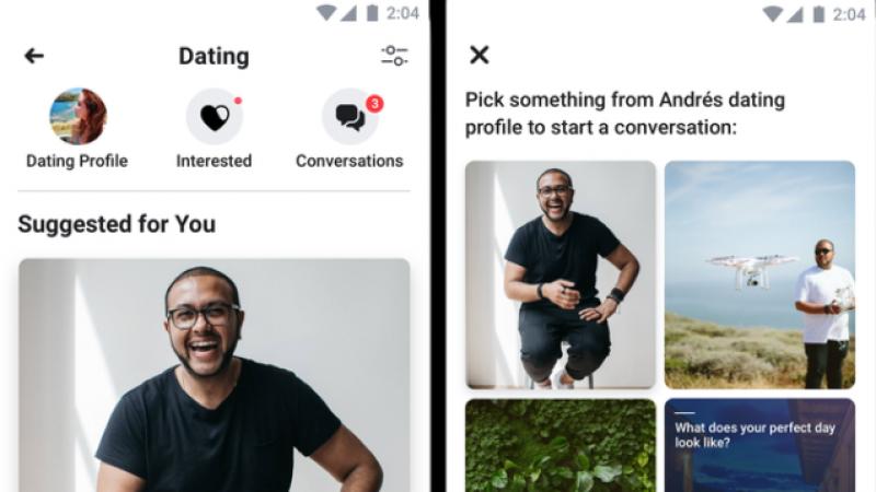 Социальная сеть Facebook тестирует собственный сервис для знакомств