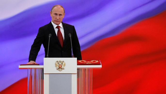 В Государственную думу  внесли поправки обувеличении сроков полномочий Президента России