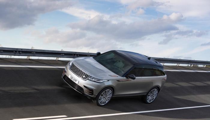 Range Rover Velar: физика, интерьер и комплектация