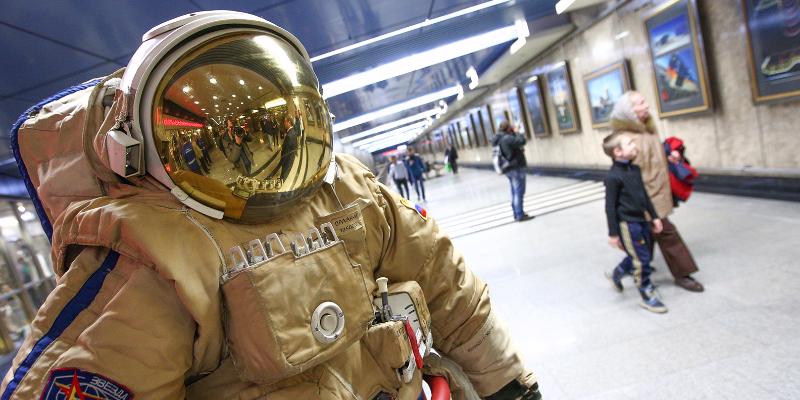 В столице России настанции метро «Выставочная» откроется мобильный планетарий