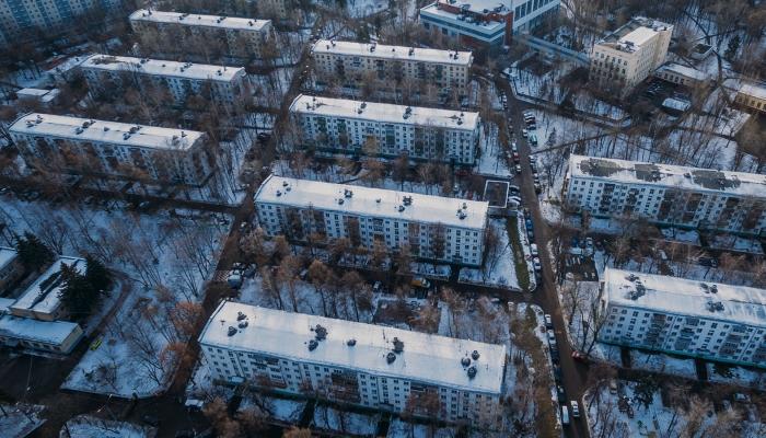 В Москве началось досрочное голосование по сносу пятиэтажек