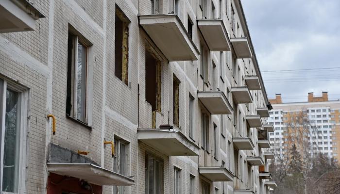 В Москве осталось снести еще 62 дома по программе 90х годов