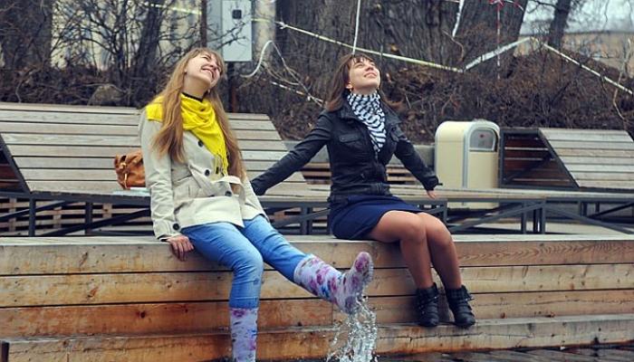 На выходных в Москве будет тепло