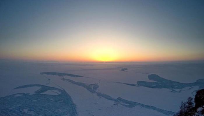От Антарктиды откололся огромный ледник массой более 1 трлн тонн