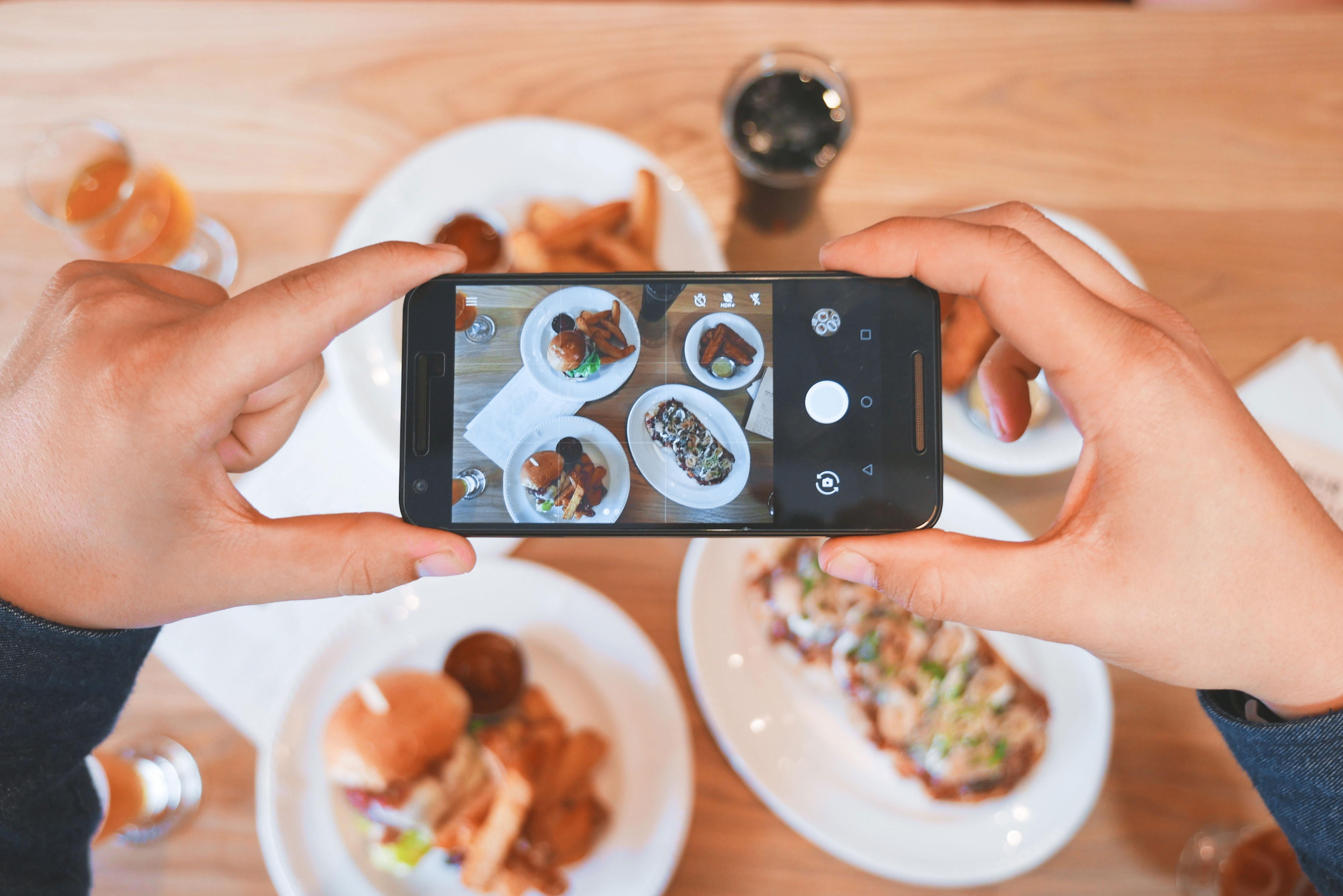 как фотографировать еду для инстаграмма пластиковый