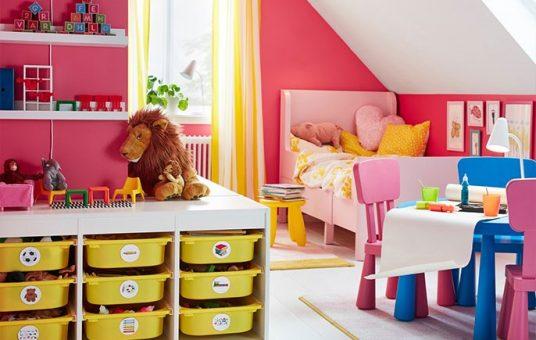 ikea-trofast-white-storage-combination-unit-with-nine-yellow-3c207b22651f34912e5a44471f547e36