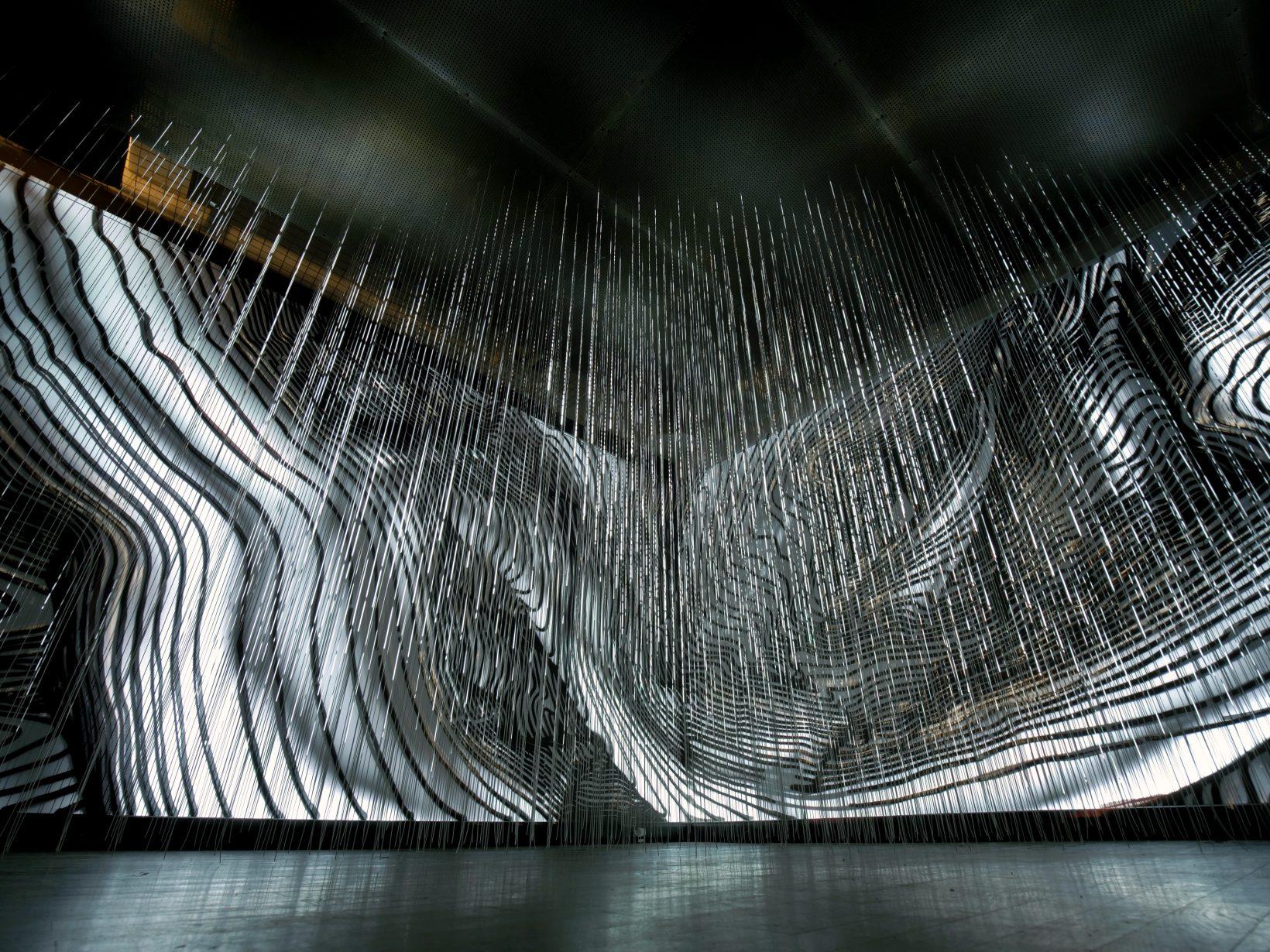 Андрей Бергер The Flow_2017_Инсталляция