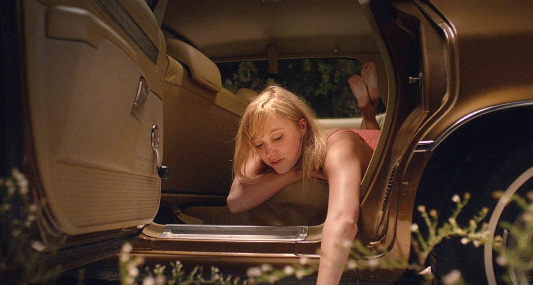 """This image released by RADiUS shows Maika Monroe in a scene from """"It Follows."""" (AP Photo/RADiUS)"""